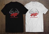 Großhandel Pilzkopf Pilzkopf Logohemdschwarzes Weißes T Shirt Der ... 3b9e3847d2