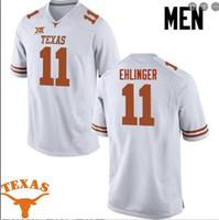 사용자 정의 남성 청소년 여성 텍사스 롱혼 샘 Ehlinger # 11 축구 유니폼 사이즈 S-4XL 또는 사용자 정의 어떤 이름이나 번호 저지