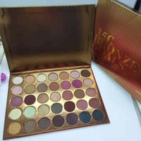 Hot 2019 New Makeup Brand Palette 35colors Bronze Eyeshadow ...