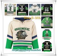 North Dakota Fighting Sioux University Hoodies 7 TJ Oshie 16 Brock Boeser 33 Cam Johnson 9 Drake Caggiula Todos los jerseys cosidos al por mayor