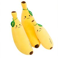 Wholesale Lovely Yellow Banana Toy Cute Cartoon Children Pil...