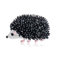 2019 New Brooch Hedgehog Brooch Cartoon Collar Pin Animal Br...
