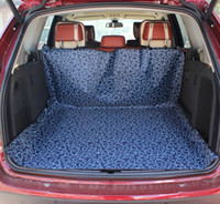 Pet Supplies gros chien porteur SUV coffre Coussin véhicule Seat Cover Protector Chiens Coffre de voiture Tapis Coussin étanche Pet Car Mats Pad