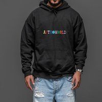 Travis Scotts Astroworld Hoodies Man The Embroidery Letter P...