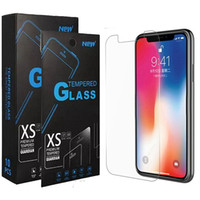 Hot Clear View, vetro temperato per iPhone 12 schermo 11 iPhone XR 2.5D Protector per iPhone Pro 11 Max XS Max 6 7 8 più