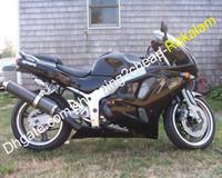 Kit de cowling de carrosserie ABS pour Kawasaki Ninja ZX6R 94 96 96 97 ZX-6R ZX 6R 1994 1995 1996 1997 Ensemble de carénage de moto noir