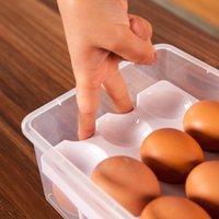 Высокое качество 2 слоя 24 отверстия пластиковые яйцо держатель для хранения Box