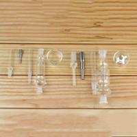 Kit de coletor de fumar com unha de titânio 10mm 14mm 18mm todo aparelho de néctar de tubos de vidro disponíveis