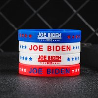 Stati Uniti d'America Rosso Biden del braccialetto del silicone del braccialetto di uomini delle donne unisex braccialetti Moda National Flag Giardino caldo di vendita 0 6yx B2
