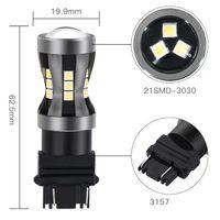تصميم خاص عالية الأداء 3157 الصمام السيارات أضواء الفرامل المصابيح الكهربائية