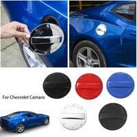 Дверная крышка топливного бака Защитить наклейки для украшения отделки для Chevrolet Camaro 2017 UP Укладки автомобилей Внешние аксессуары