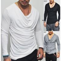 2018 nuova t-shirt a maniche lunghe da uomo personalità tendenza versione coreana della giacca in cotone auto-coltivazione abbigliamento abbigliamento maschile WGTX12