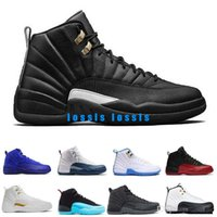 2019 cheap shoes 12s wool XII basketball shoes Flu Game wolf...