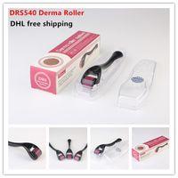 DHL 무료 540 바늘 마이크로 바늘 롤러 Dermaroller의 0.2-3.0mm 피부 젊 어 짐 DRS 540 마이크로 니들 더마 롤러 스킨 롤러 시스템