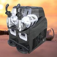 Sous-neige Barre horizontale commerciale Double cylindre de fonte de fusion de la machine à fondre de boisson à froid Boisson Smoothie Machine 220V
