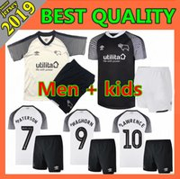 Männer Kinder Kit 2019 Derby County Fußball-Jersey-19 20 PATERSON LAWRENCE DOWELL ROONEY Waghorn MARRIOTT Fußball Shirts