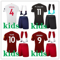 kids 2019 2020 football kits Liverpool maillot de foot fußball trikot kit fußballtrikot 19 20 camiseta de fútbol Voetbalshirt kids set