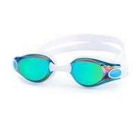 Adultos natação óculos anti-fog profissionais homens e mulheres de silicone de arena piscina impermeáveis óculos de mergulho de natação Óculos