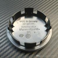 La cubierta del casquillo 20pcs 65mm coche del centro de rueda del casquillo de eje para VW Logo insignia emblemas 3B7601171 3B7 601 171 Car Styling