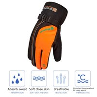 New unisex Waterproof Heated Winter Skiing Gloves Windproof ...