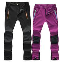 c31e396adf35 Outdoor Quick Dry Hiking Pants Plus Size Men Mountain Climbing Fishing  Trousers Women Trekking Outdoor Sport Waterproof Pants