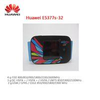 Huawei e5377s-32,150mbps с сим слот для карт 4G LTE беспроводной маршрутизатор + 4g TS9 антенны 35dbi