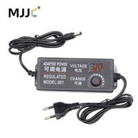Регулируемый адаптер питания Напряжение Регулируемое 5V 12V 24V LED Driver 2A 3A 5A Дисплей Импульсный источник питания трансформатор для освещения