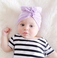 Europe Infant Baby Girls Hat Knot Headwear Child Toddler Kid...