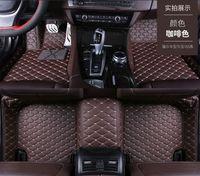 Hyundai Santa Fe 2010-2019 için Paspaslar FloorLiner Halı Su Geçirmez Fly5D