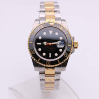 Best Selling 116613LN Date Diving Two Tone Black Sapphire Di...
