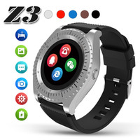Android Montre Smart Watch Z3 Bluetooth Montre Fitness Tracker Podomètre Smartwatch IPS HD Écran LCD Support SIM Carte TF Caméra Pour IOS Dans La Boîte