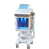 5 в 1 Hydrafacial машине Hydra Microdermabration RF био настоящее подтяжка лица кислородный распылитель ультразвуковой массаж подтяжка кожи Уход за кожей CE