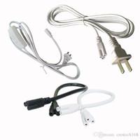 1.5 M T4 T5 T8 tüp Bağlantı Kablosu kablosu ABD Plug hattı için LED ışık Çubuğu floresan 250 V 2.5 A T5 Bağlantı Kablosu Tel