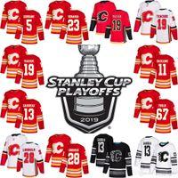 2019 Playoffs Patch Temporada 18 James Neal 56 Ryan Lomberg 88 Andrew Mangiapane Calgary Llamas 19 Matthew Tkachuk 36 Troy Brouwer Jerseys