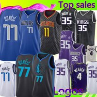 3eed0e1a2052 New 2019 Men Dirk Nowitzki Dallas Luka Doncic Jersey Maverick ...