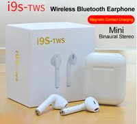 i9S TWS Wireless Bluetooth Earbuds Headphones Mini Stereo Ea...