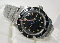 Topselling модные наручные часы Винтаж 40 мм 5513 черный Макси циферблат нержавеющая сталь Азия 2813 механизм механические автоматические мужские часы Часы