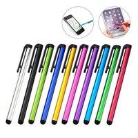 Универсальный емкостный Стилус для Iphone 7 7plus 6 6S 5 5S Touch Pen для мобильного телефона для планшета разные цвета
