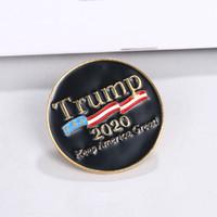 Trump 2020 broche broches de los pernos mantienen a América grande otra vez ramillete de vestir regalo del favor de la decoración del partido broooches FFA4038-1