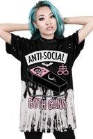패션 새로운 핫 여름 펑크 여성 T 셔츠 큰 사이즈 여성 의류 새로운 패션 재미 트렌드 탑 프린트 T 셔츠를 3D