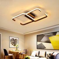 Cristal LED Lustre plafond pour Salon Chambre Maison AC85-265V moderne Lustre Lampe Led Luminaire de plafond