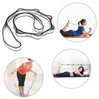Fitness Yoga Polyester Tension Stretch Strap Body Building S...