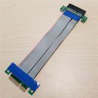 كابل تمديد موسع بطاقة PCI-E PCI Expres x4 Flex Riser بحجم 1 سم لمدة 1U 2U