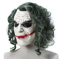Хэллоуин Ужас Волшебник Клоун Партия Маска Cos Декор Латекс Анфас Маска Маскарад Хэллоуин Побег Одеваются Для Взрослых