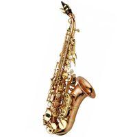 Новый бренд Японии Yanagisawa SC-WO20 изогнутый сопрано саксофон си-бемоль латунь золотой лак музыкальные инструменты саксофон с мундштуком Бесплатная доставка