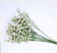 Respiração Artificial de Gypsophila do bebê flores de seda planta casa decoração de casamento