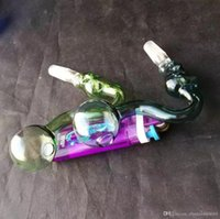 متعدد الألوان جمجمة زجاج طباخ الزجاج بونغ أنابيب المياه BONGS أنابيب التدخين الملحقات السلطانيات
