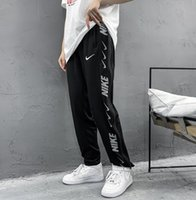 2020 Spring New Sports Pants Mens Cotton Trousers Fashion Br...