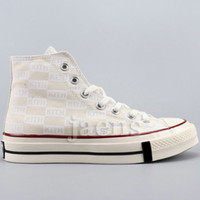 New White Preto Canvas 70 s Mens Sapatos Casuais Kith Chucks Womens 1970 todos All Star Designer Shoes US5.5-11