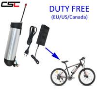 Bateria elétrica do íon de Li da bicicleta 36V 8ah para a garrafa elétrica da bicicleta 250W Bateria de lítio com o carregador livre da bateria do tubo do BMS para baixo 36Volt